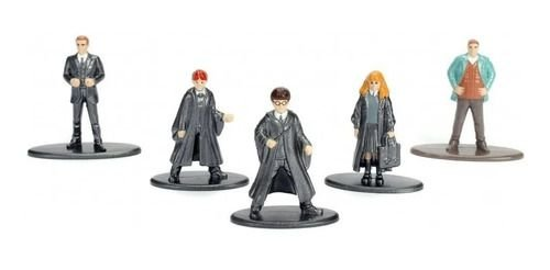 Kit 5 Nano Metalfigs Harry Potter- Hermione - Ron