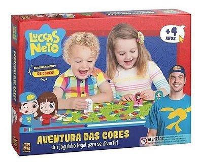Jogo Educativo Aventura Das Cores Luccas Neto