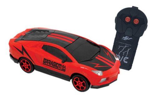 Carrinho Controle Remoto Garagem S.a. Spark - Vermelho