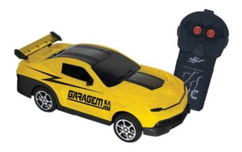 Carrinho Controle Remoto Garagem S.a. Spark - Amarelo