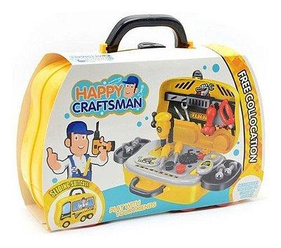 Brinquedo Infantil Maleta De Ferramentas C/ 23 Tens