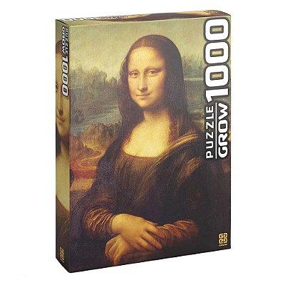 Quebra Cabeça 1000 Peças Monalisa Puzzle