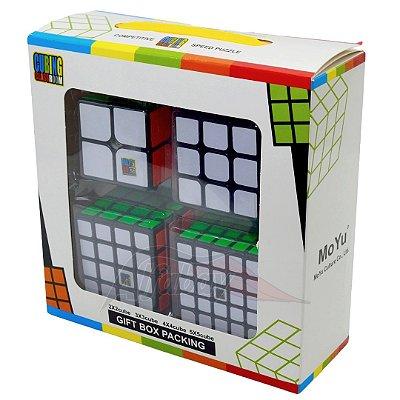 Box Moyu MoFangJiaoShi MF2S+ MF3RS+ MF4S+ MF5S Adesivado
