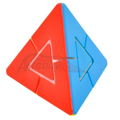 JieHui Triangle Tower Puzzle Stickerless