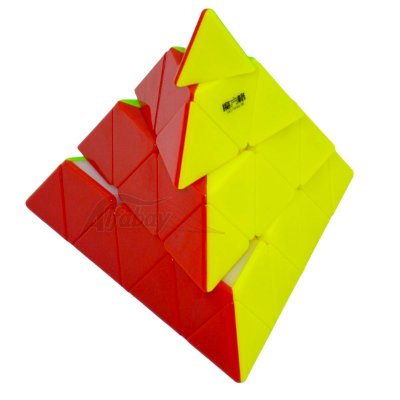 QiYi Pyraminx 4x4x4 MFG Stickerless