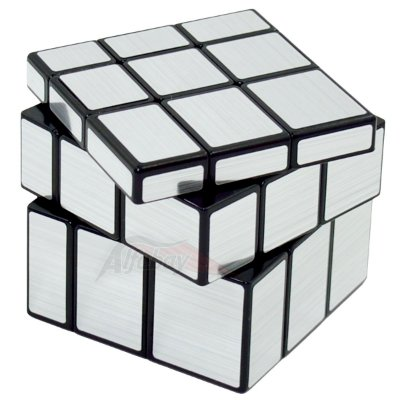 QiYi Mirror Block 3x3x3 Prateado