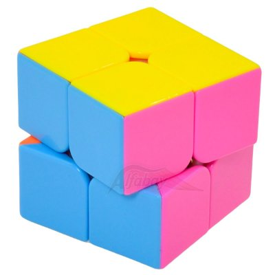 Yisheng Series 2x2x2 Candy Colors Stickerless