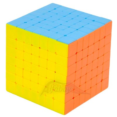 Yisheng Series 7x7x7 Candy Colors Stickerless