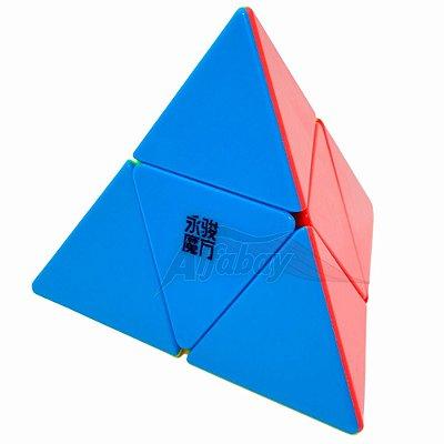 YongJun Pyraminx 2x2x2 Jinzita Stickerless