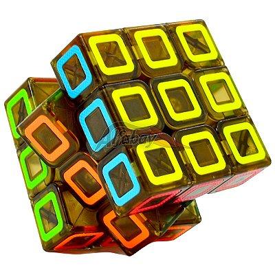 QiYi 3x3x3 Black Stickerless Dimension