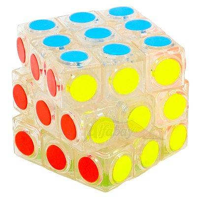 FanXin 3x3x3 Peças Stickerless Transparente