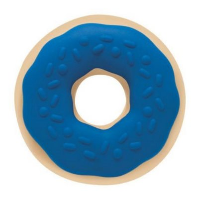 Mordedor Docinho - Donuts Marcio + Rosquinha 4 Meses Azul