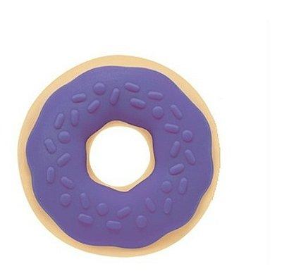 Mordedor Docinho - Donuts Marcio + Rosquinha 4 Meses Roxo