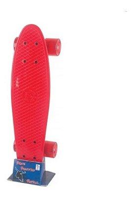 Skate Mini Cruiser Penny Fenix Infantil Criança Vermelho