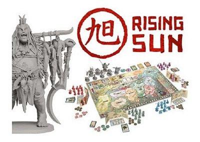 Board Game - Rising Sun - Galápagos - Jogo De Estratégia