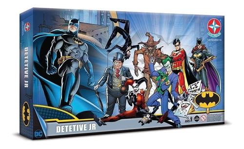 Jogo De Tabuleiro Detetive Jr Batman