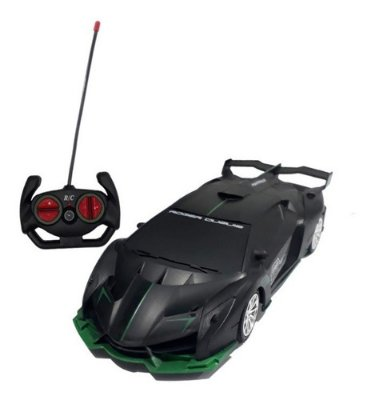 Carro Com Controle Remoto Lamborghini Bugatii 4 Funções