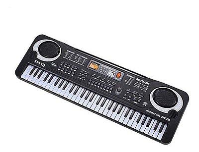 Teclado Piano Eletrônico Música De Órgãos Com Microfone