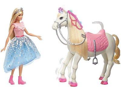 Barbie Com Cavalo Aventura De Princesas Gml79 - Mattel