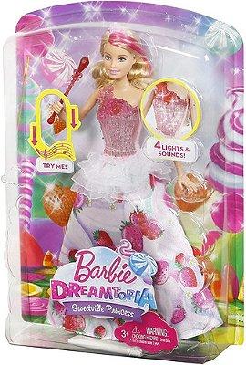 Barbie Dreamtopia Princesa Reino Dos Doces Musical - Com Luz