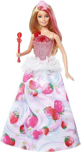 Barbie Dreamtopia Princesa Reino Dos Doces Musical - Com Luz