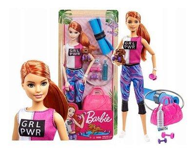 Barbie Fashionista - Musculação Dia De Spa Fitness Com Pet