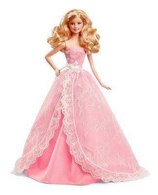 Barbie Feliz Aniversario 2015 Edição De Colecionador Loira