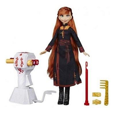 Boneca Articulada Disney Frozen 2  Lindas Tranças Anna Origi