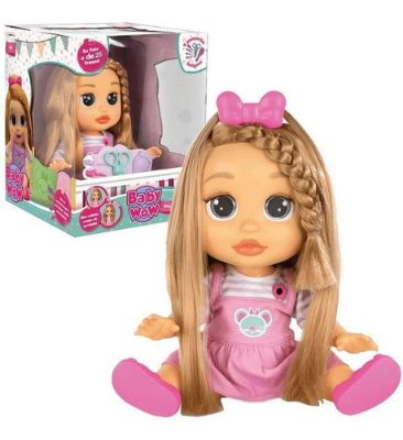 Baby Wow Mia Multikids C/ 25 Frases Cabelo Crescer
