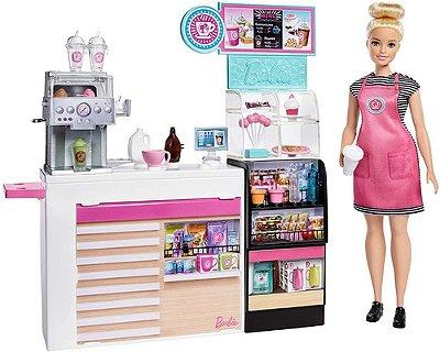 Barbie - Cafe - Cafeteria De Luxo + 20 Acessórios