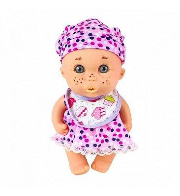 Boneca Cuties Papinha Com Sardinha Com Acessórios - Cenoura