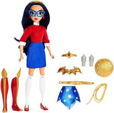 Boneca Dc Mulher Maravilha 2 Em 1 - Super Hero Girls - Cn