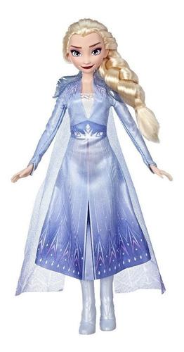 Boneca Elsa Frozen 2 Disney - 30 Cm - Vestido Encantado