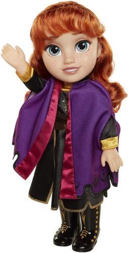 Boneca Frozen2 Anna Com Vestido E Botas De Luxo Edição 37cm