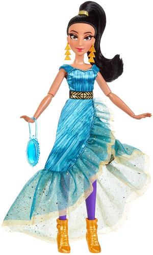 Boneca Princesas Disney Style Series Jasmine Edição De Luxo