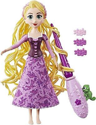 Boneca Rapunzel Enrolados Disney - Cabelos Magicos De Luxo