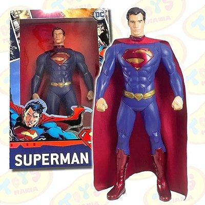 Boneco Articulado 45 Cm Superman - Dc Comics - Mimo Original