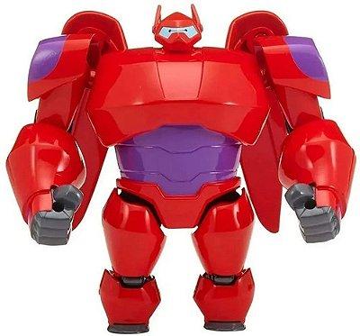 Boneco Big Hero 6 Series Armadura Baymax Marvel Disney