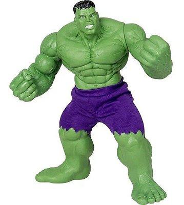 Boneco Hulk Vingadores - Marvel Comics 45cm Gigante