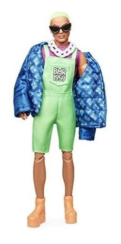 Boneco Ken Barbie Bmr1959 Collector Articulado Pablo Top