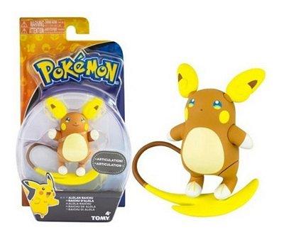 Boneco Pokémon Raichu Alolan Figure 4,5 Polegada