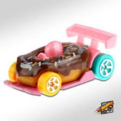 Hot Wheels - Carrinho Donut Drifter - Edição Fast Foodie