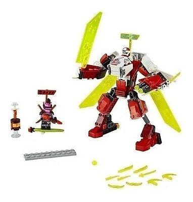 O Jato Robô Do Kai - Lego Ninjago 2 Em 1 Robo E Nave 217 Pc