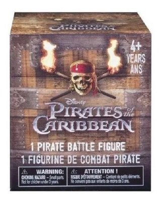 Piratas Do Caribe - Mini Figura De Batalha - Sunny Supresa