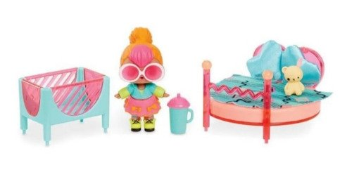 Playset Lol Surprise Furniture With Doll Asst - Com 10 Peças