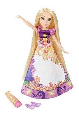Princesas Disney Rapunzel Vestido Mágico Conta Sua Historia