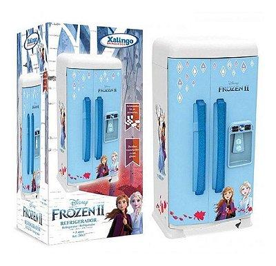 Refrigerador Geladeira Infantil Frozen 2 Disney C/acessórios