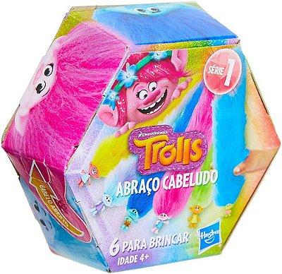 Trolls Bracelete Prendedor Abraço Cabeludo Surpresa Hasbro