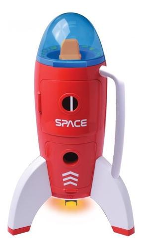 Foguete Espacial E Astronautas Interativo Exploradores