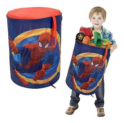 Cesto Organizador Porta Treco Multiuso Brinque Homem Aranha